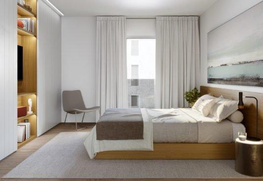 """Alt: """"dormitorio principal amplio"""""""