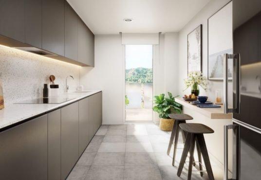 """Alt: """"cocina equipada con diseño y calidad"""""""