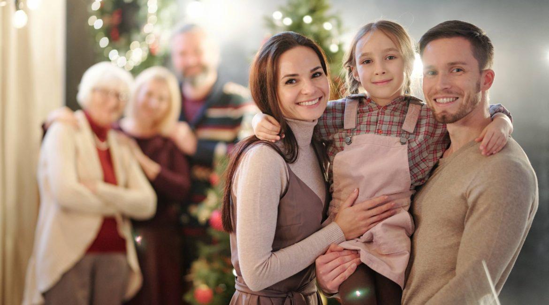 Una Navidad en familia