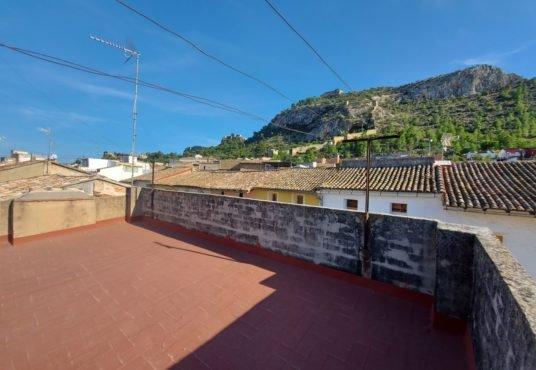 terraza con vistas panorámicas