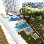 vistas edificio europa con piscina