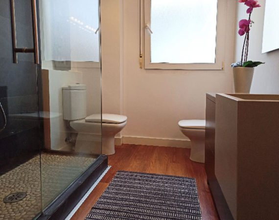 Cuarto de baño vivienda