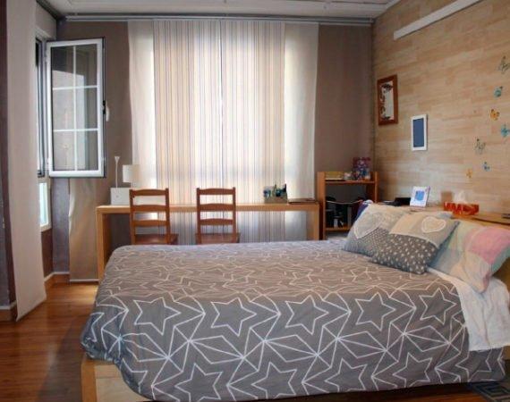 habitación de matrimonio de piso en venta