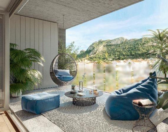 terraza vivienda en venta