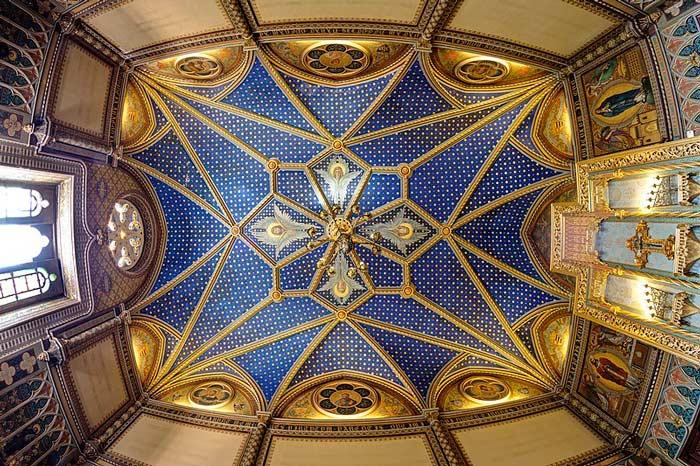 techo palacio ducal que ver en gandia